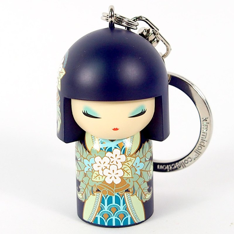 Key ring - Masayo loyal to self [Kimmidoll and blessing doll key ring]