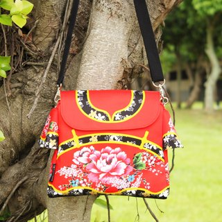Taiwan traditional Printed pattern BAG (Red)