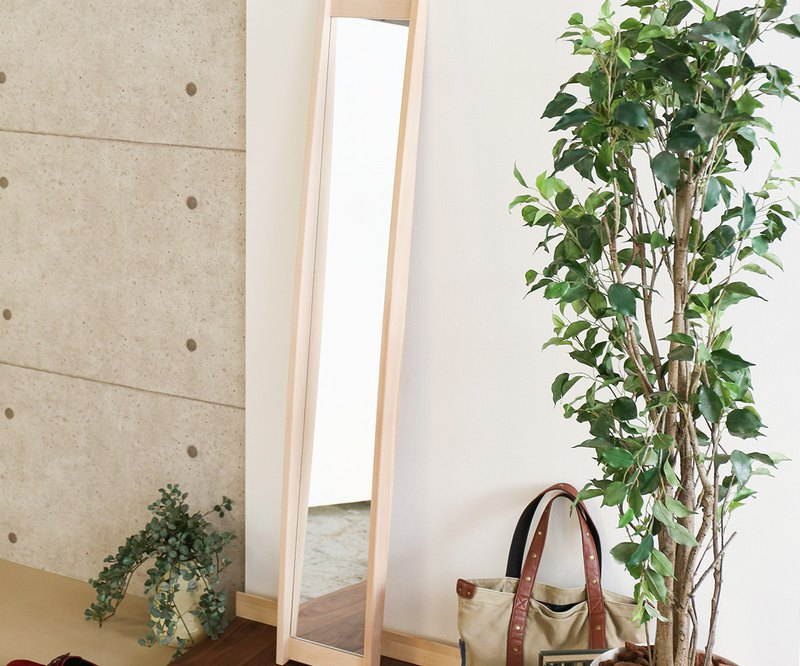Asahikawa Craft Taisetsu Woodwork Nordlys Mirror