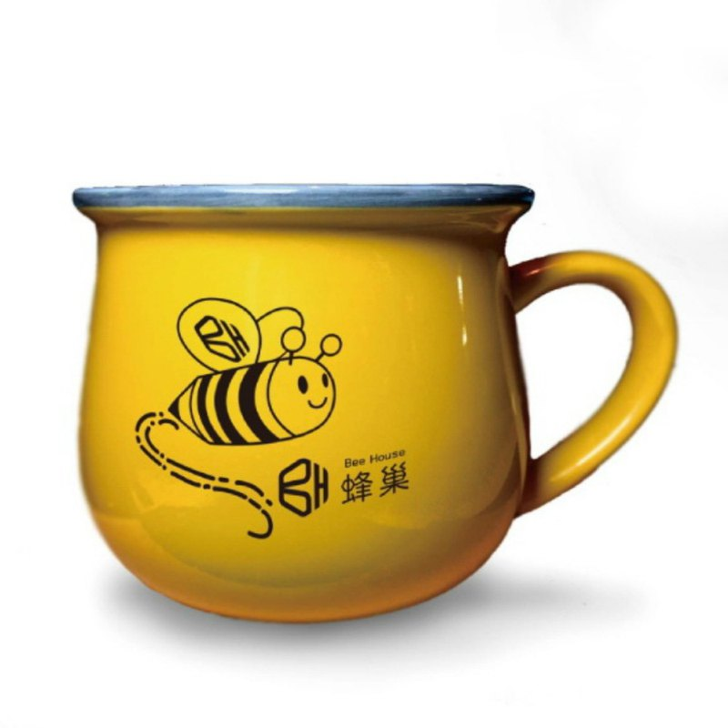Honeycomb Q BEE mug