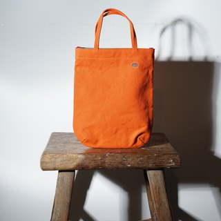 Mushroom Mogu Canvas Bag / Sweet Single Packet Persimmon Orange