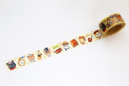 OURS Original Washi Masking Tape - Gentle Cats by Koopa