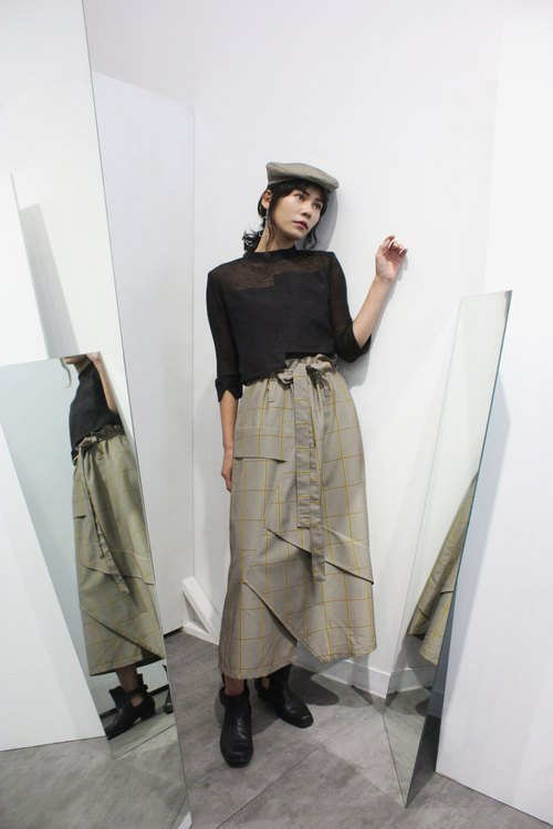 360 degree double-sided skirt