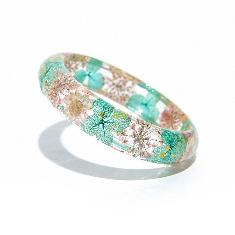 Alice Series [Mr. Hat's Afternoon Tea] - Cloris Gift Everlasting Flower Bracelet