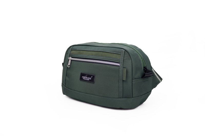 Matchwood Density portable pouch design │ graphite green models