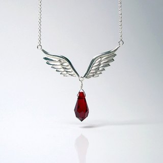 Wings Of Dream sterling silver necklace