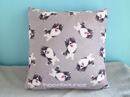 Border Collie Puppy Pillow Case