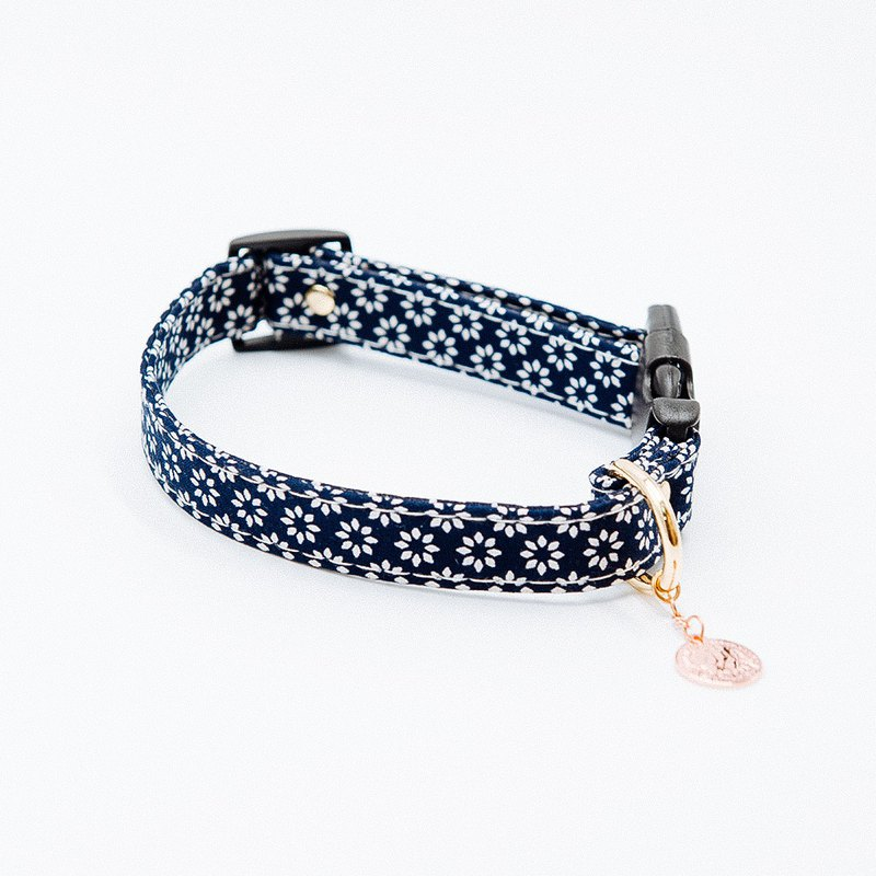 【Momoji】 Pet Collar - Bloom