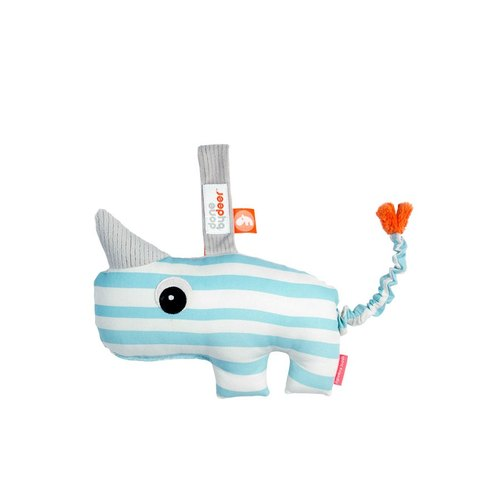 Denmark Done by Deer -NOZO rhino 2D musical hanging Toys