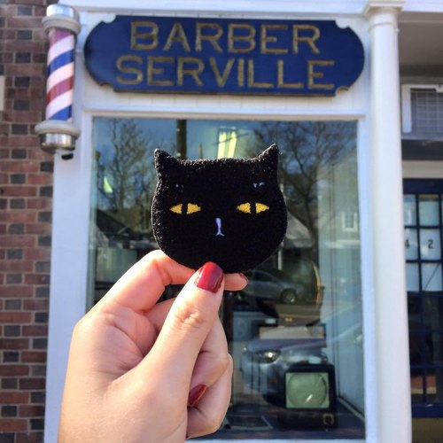 Meow Barber - Badkitty Pin