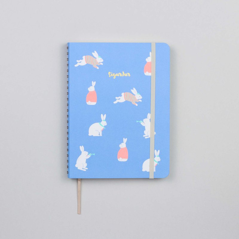 Bunny Blue A5 Notebook / Sketchbook
