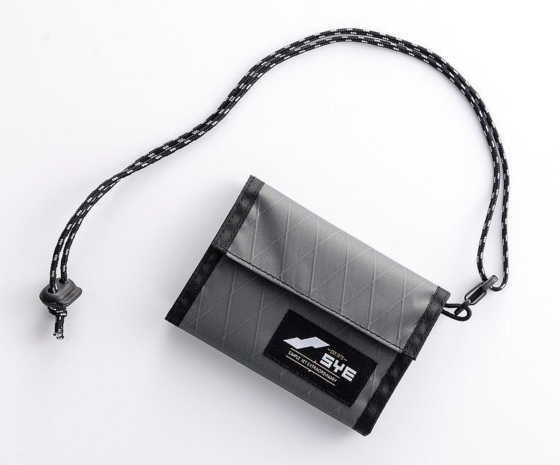 X-PAC 兩用式摺疊錢包 零錢包 皮夾 短夾 禮物 頸掛包 男女 S.Y.E