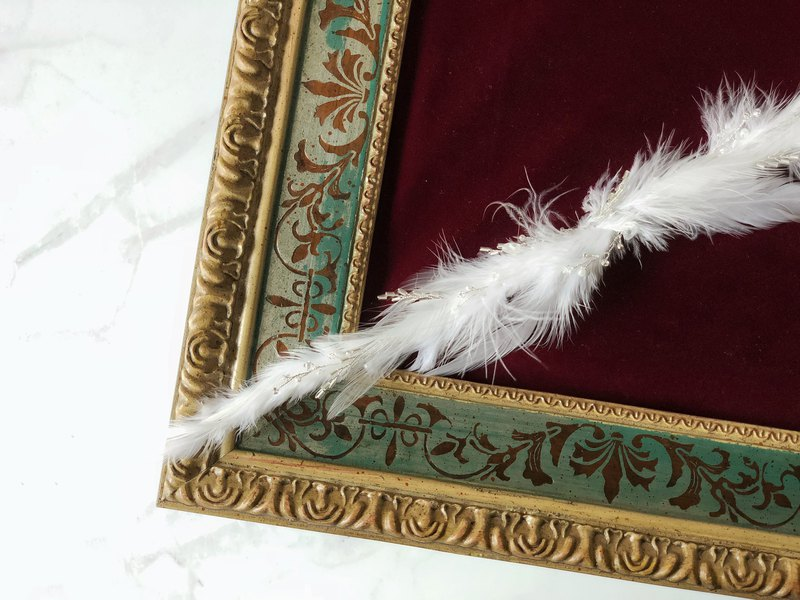 Raphael / Necklace Bridal Accessories Feathers