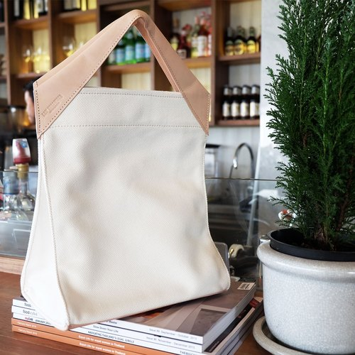 Paper Bag Classic Tote Cream
