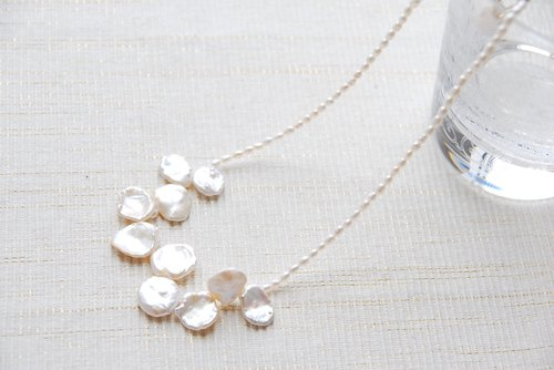 Petal Quesshir pearl necklace (14 kgf)