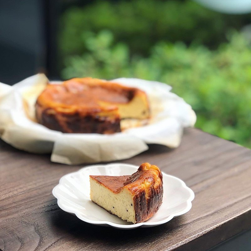 Classic original Basque cheesecake-cheese control must eat the mellow kiri cheese