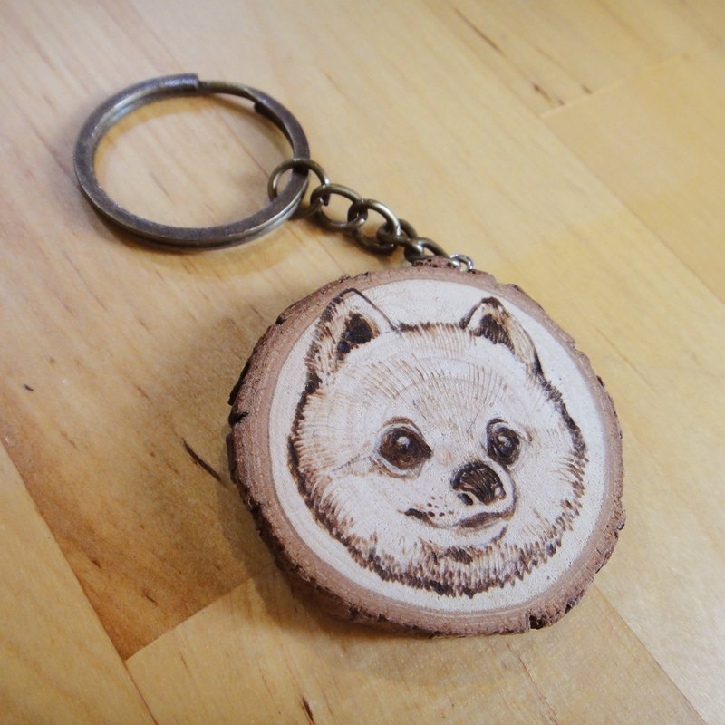 Logging and burning guest key ring / mobile phone straps - open exclusive store, please do not directly subscript