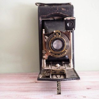American Kodak Large Snake-bellied Antique Camera Between 1914 and 1934
