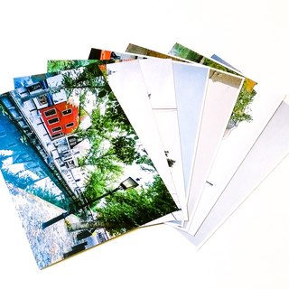 Photographic Postcard Set: Netherlands In Summer (7pcs)