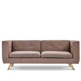 AJ2 │ My List │ Mocha Coffee│ Three-seat sofa