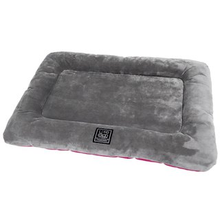 Lifeapp Kennel Pet Mat Grey Red S