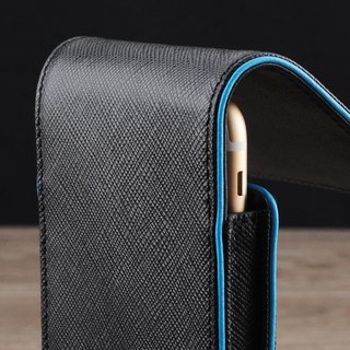 STORYLEATHER made (APPLE iPhone series) Style S4 straight double touch line custom leather holster