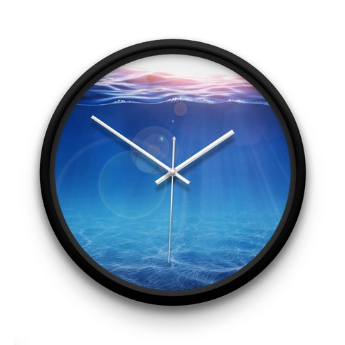 AppleWork iWatch creative wall clock: Marine PSIC-058