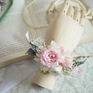 ♥ daily ♥ Gentle graceful bride wrist flower / not withered / eternal flower / outside shoot