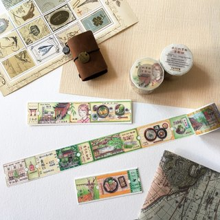 Masking Tape / The tickets of Circus Show / Special Vol. Kyoto Travel Tickets