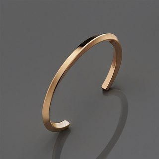 Twist Bracelet Brass Twisted Bracelet