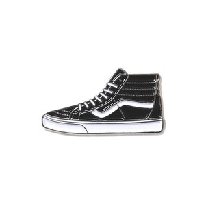 Black Vans Sneakers Pin