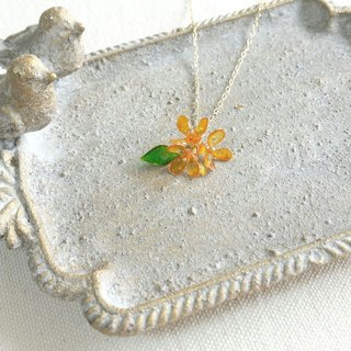 fragrant olive necklace