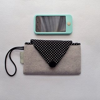 Hairmo triangle envelope mobile phone bag - dark gray (mobile / mobile power)
