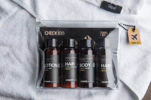 CHECK inn Travel Pamper Set 40ml each