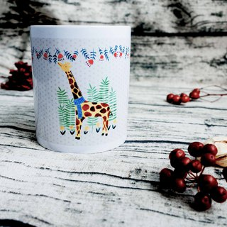 [Good day] Giraffe daily mug