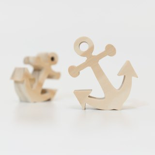 wagaZOO thick cut modeling blocks graphic series - anchor