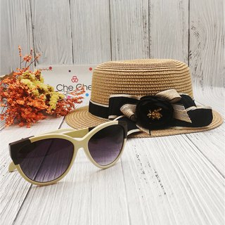 Discounted Package – Straw Hat + Sunglasses