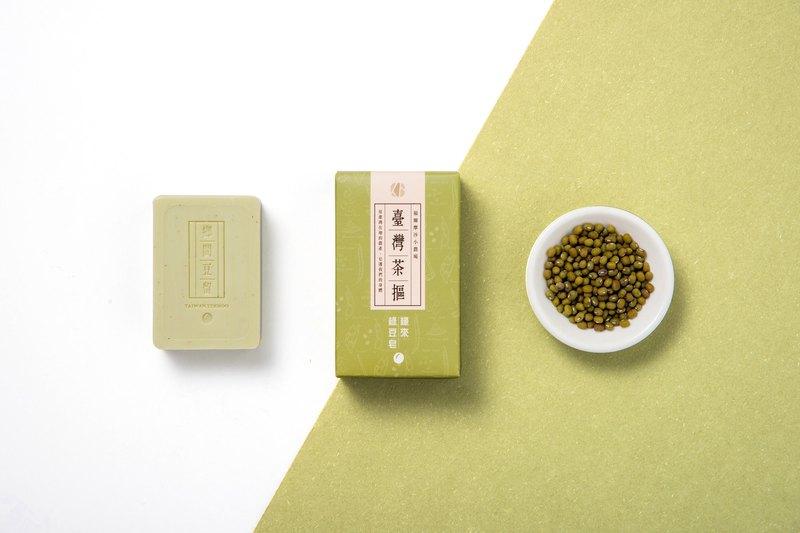 [Taiwan tea 抠] country beans stay _ edge  Mung bean soap 100g