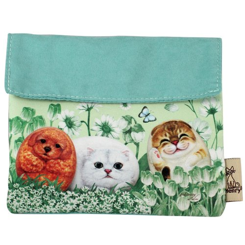 Portable paper cover / storage packet-hide and cat/FMP9-4A