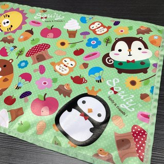 Squly & Friends Placemat (Forest) - F003SQH