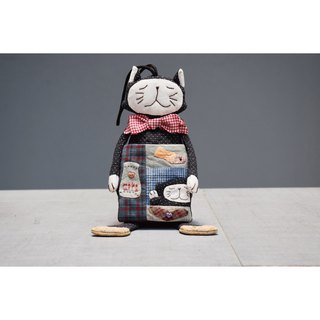 Standing cat coin purse