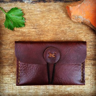 Coin Purse (color dark brown)