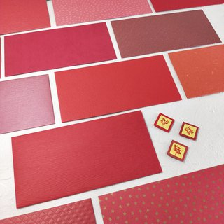 [Handmade red envelopes] new red envelopes paper - five into