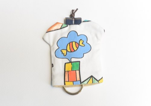 T-Shirt Key Holder - Candy