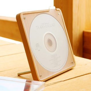 Wooden CD Disc Stand