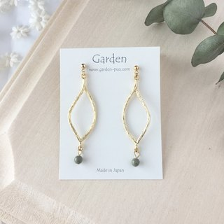 eda earrings khaki