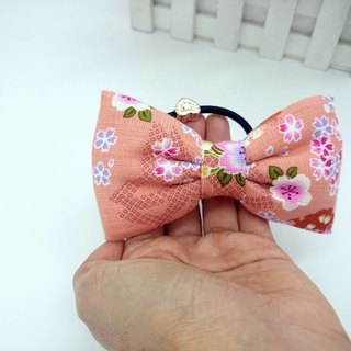 Ring Q cotton bow hair tress*SK*