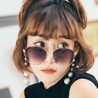 Dreamcatcher│Blue Round Sunglasses