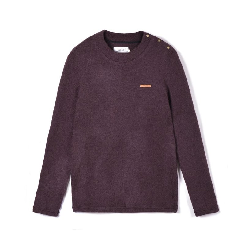 oqLiq - Root - Italian Angola wool sweater