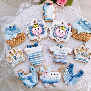 Navy prince collecting biscuits (12 pieces)